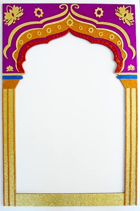 Amazon.com: Frame Bollywood party Props Indian: Kitchen & Dining