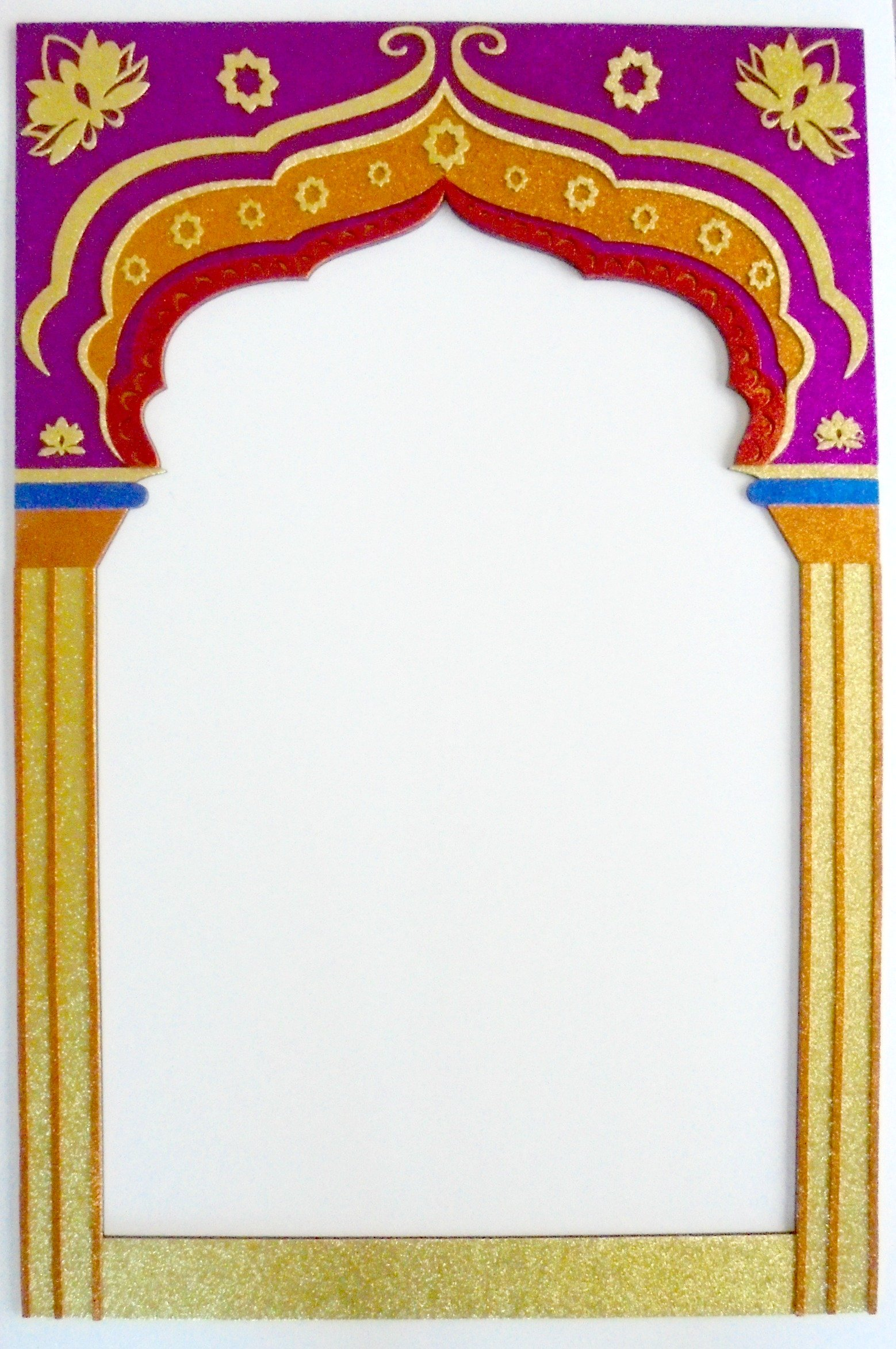 Frame Bollywood party Props Indian
