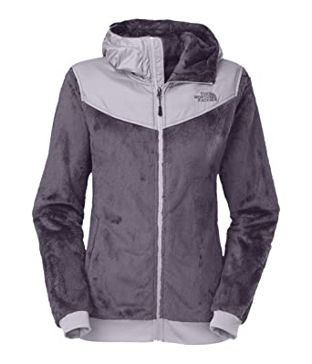 The North Face Womens Oso Hoodiez Greystone Blue/Dapple Grey - Coats & Outerwear