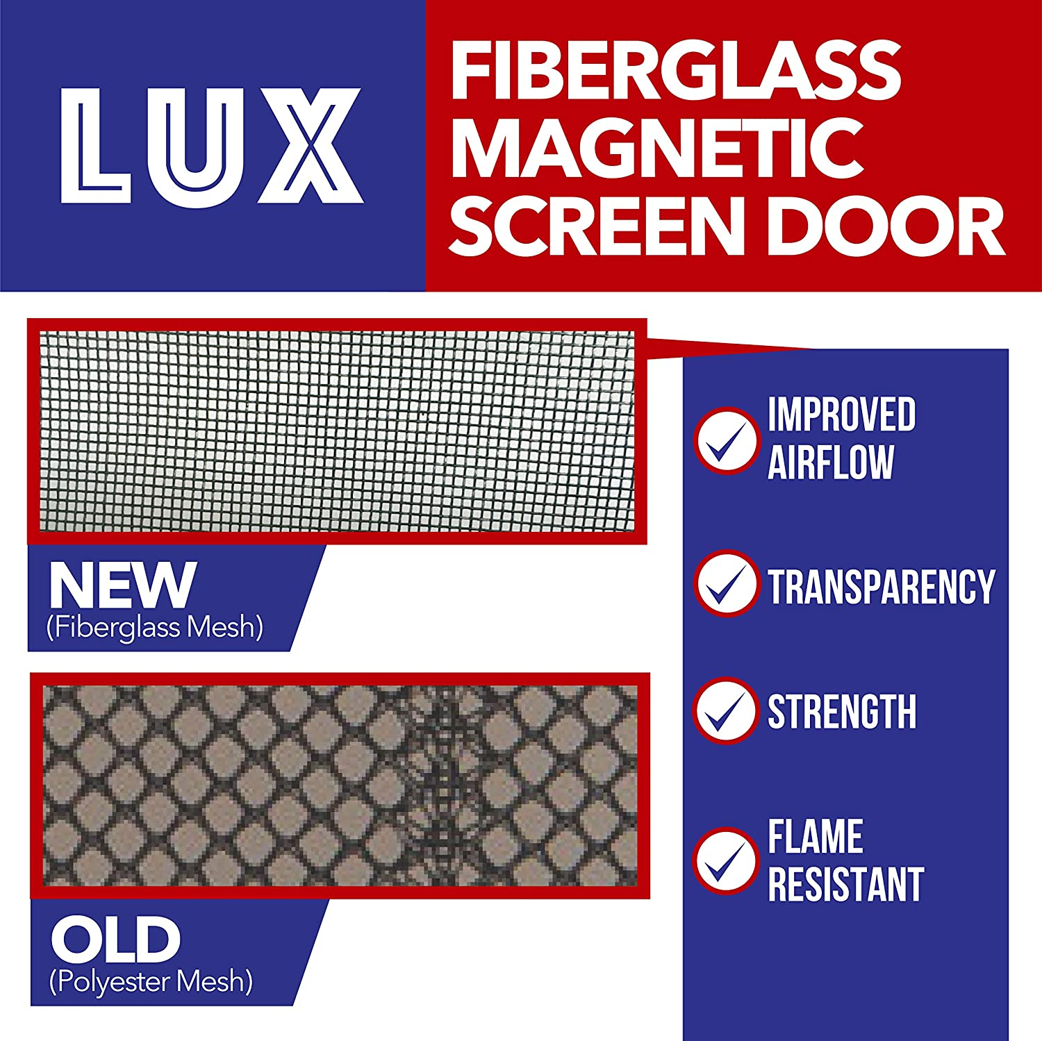 Magnetic screen door new 2017 patent pending design full frame magnetic screen door new 2017 patent pending design full frame velcro fiberglass mesh not polyester this instant retractable bug screen opens and closes vtopaller Image collections