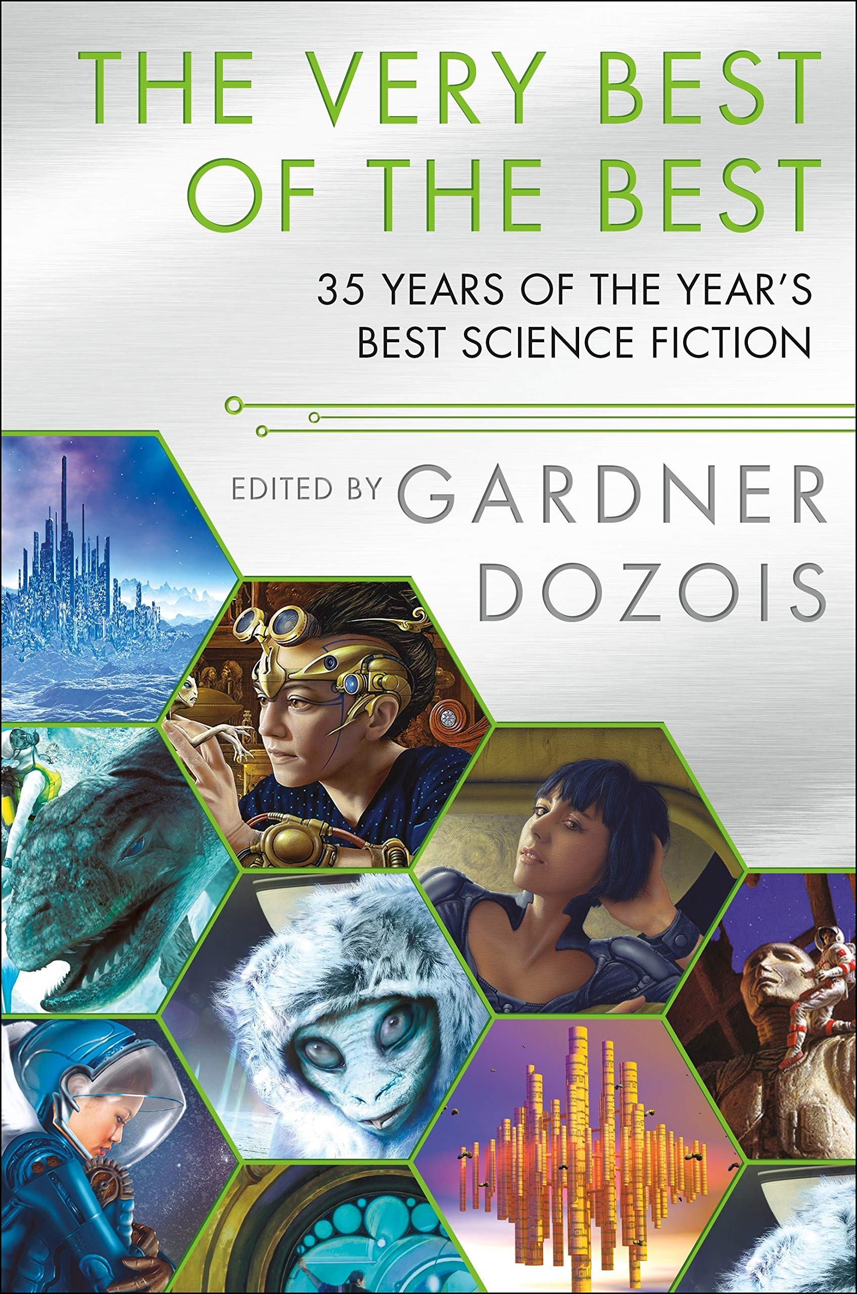 Image result for very best of the best 35 years of the year's best science fiction