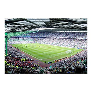 Papier Peint Intisse Stade De Football Panoramique Large Amazon
