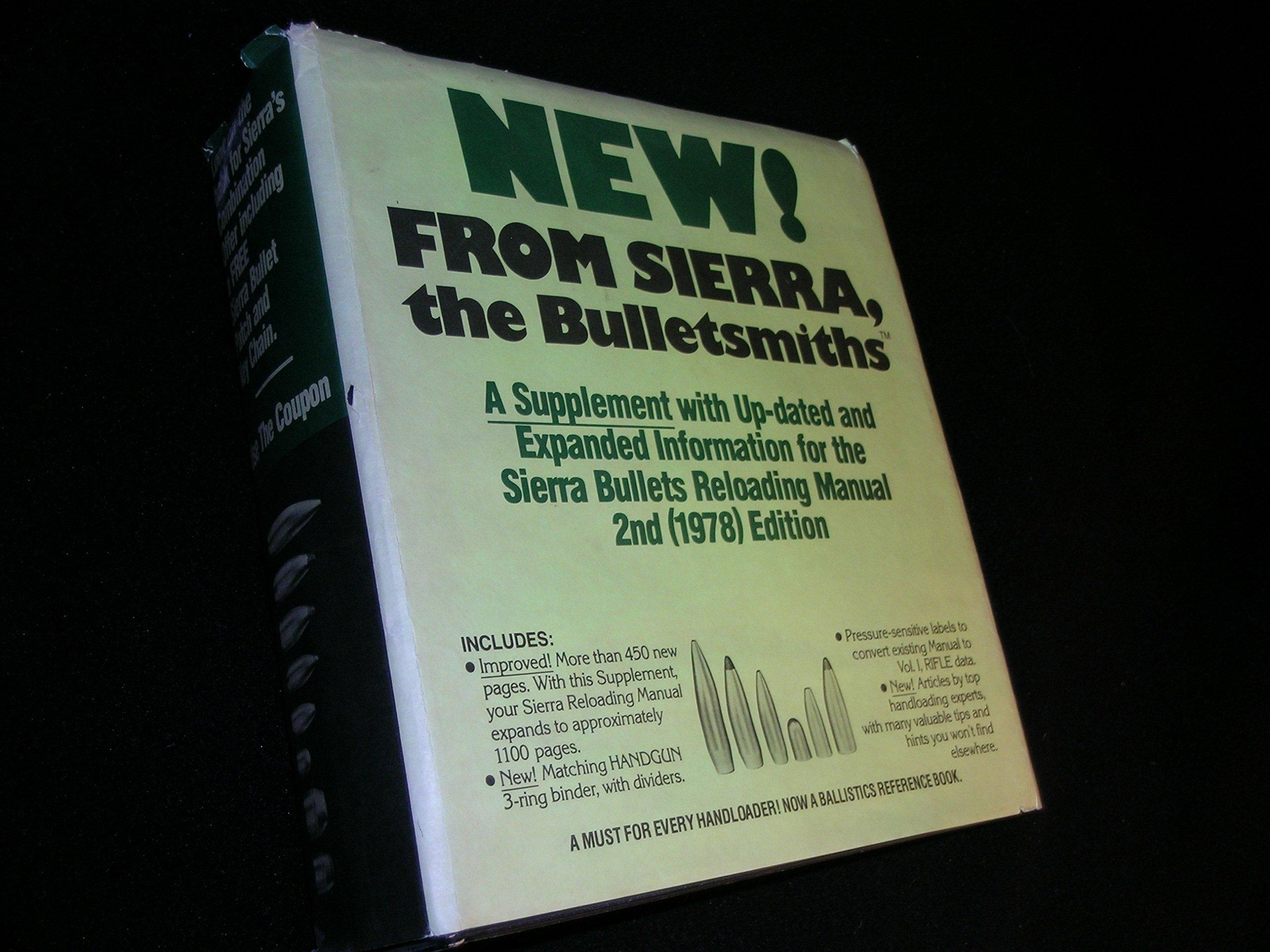 Sierra Bullets Handgun Reloading Manual: Ted C Almgren, Martin J Hull,  William T MacDonald Robert D Hayden, Art Blatt: Amazon.com: Books