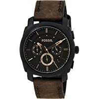 Fossil Machine Analog Brown Dial Men's Watch - FS4656