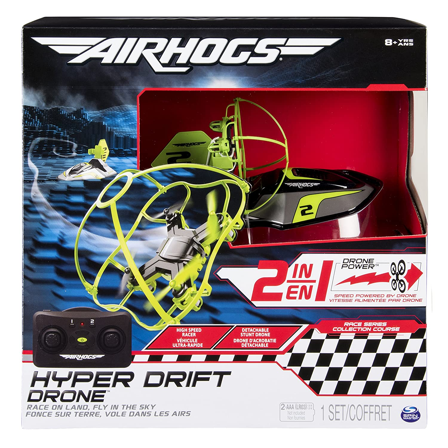 Air Hogs 6040078 Hyper Drift Drone (Colores Surtidos): Amazon.es ...