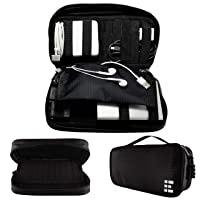 Zero Grid Travel Cord Organizer Bag & Electronics Cable Case