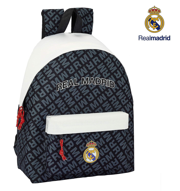 Safta Real Madrid Mochila Daypack Mochila Escolar, 42 cm, Colores: Amazon.es: Equipaje