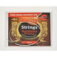 Balalaika Strings Prima Balalaika 3 String Set Steel Strings Russian Balalaika Strings