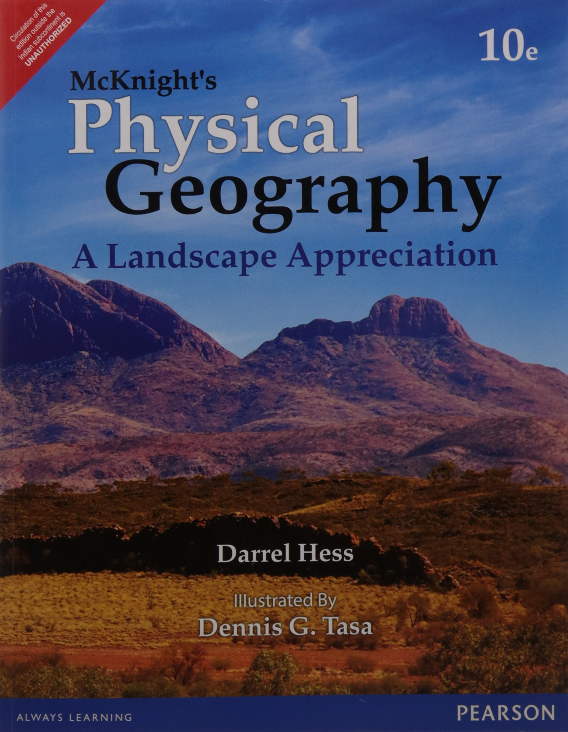 Download Mcknight's Physical Geography: A Landscape Appreciation, 10 Ed pdf