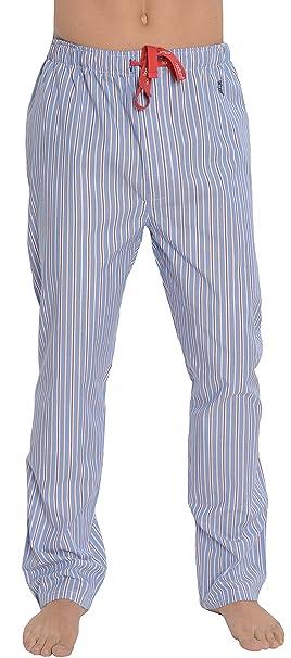 Pantalón de Pijama Suelto de Hombre | Pantalón de Pijama de Caballero, clásico, a
