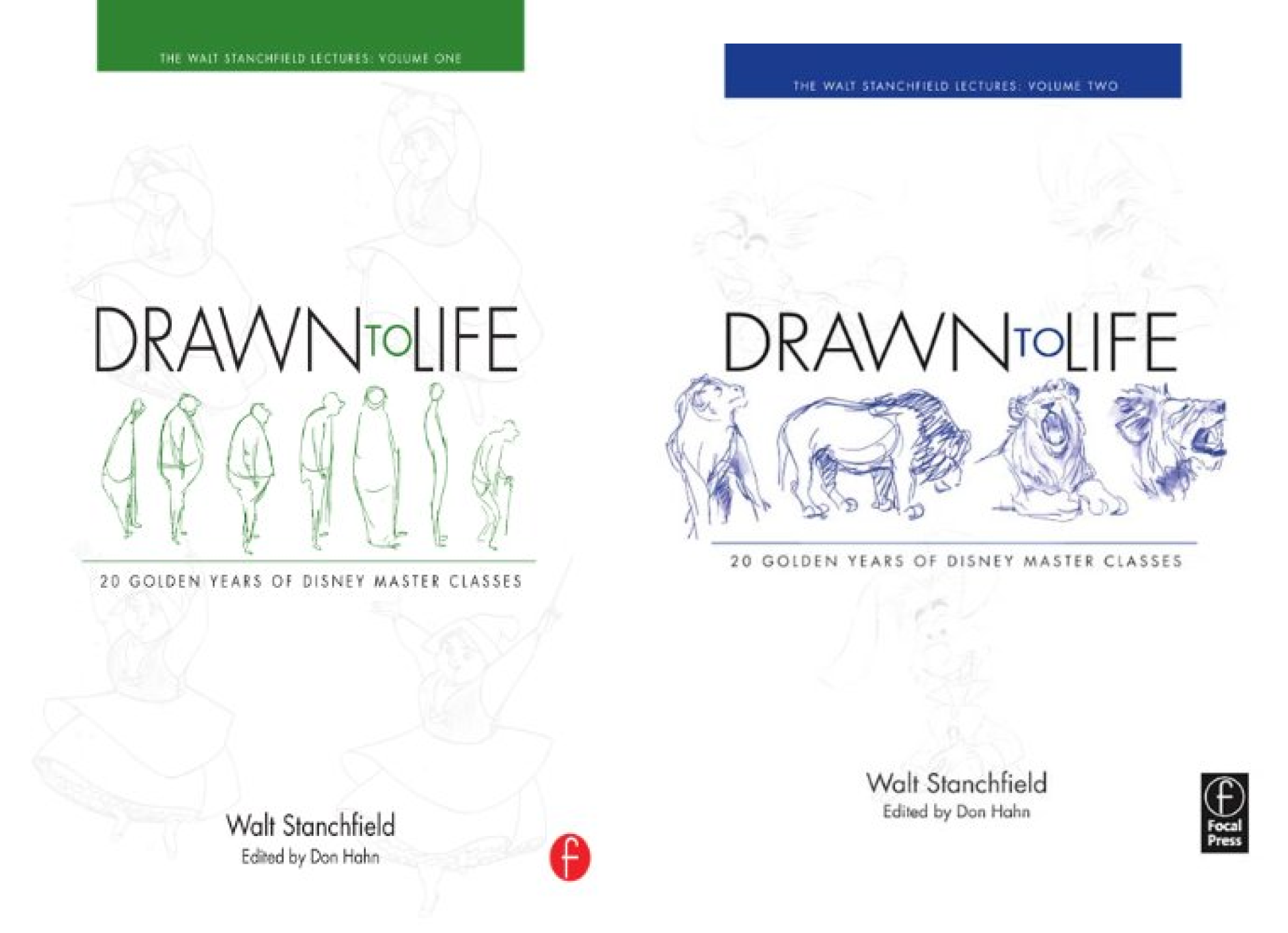 Walt Stanchfield Lectures (2 Book Series)