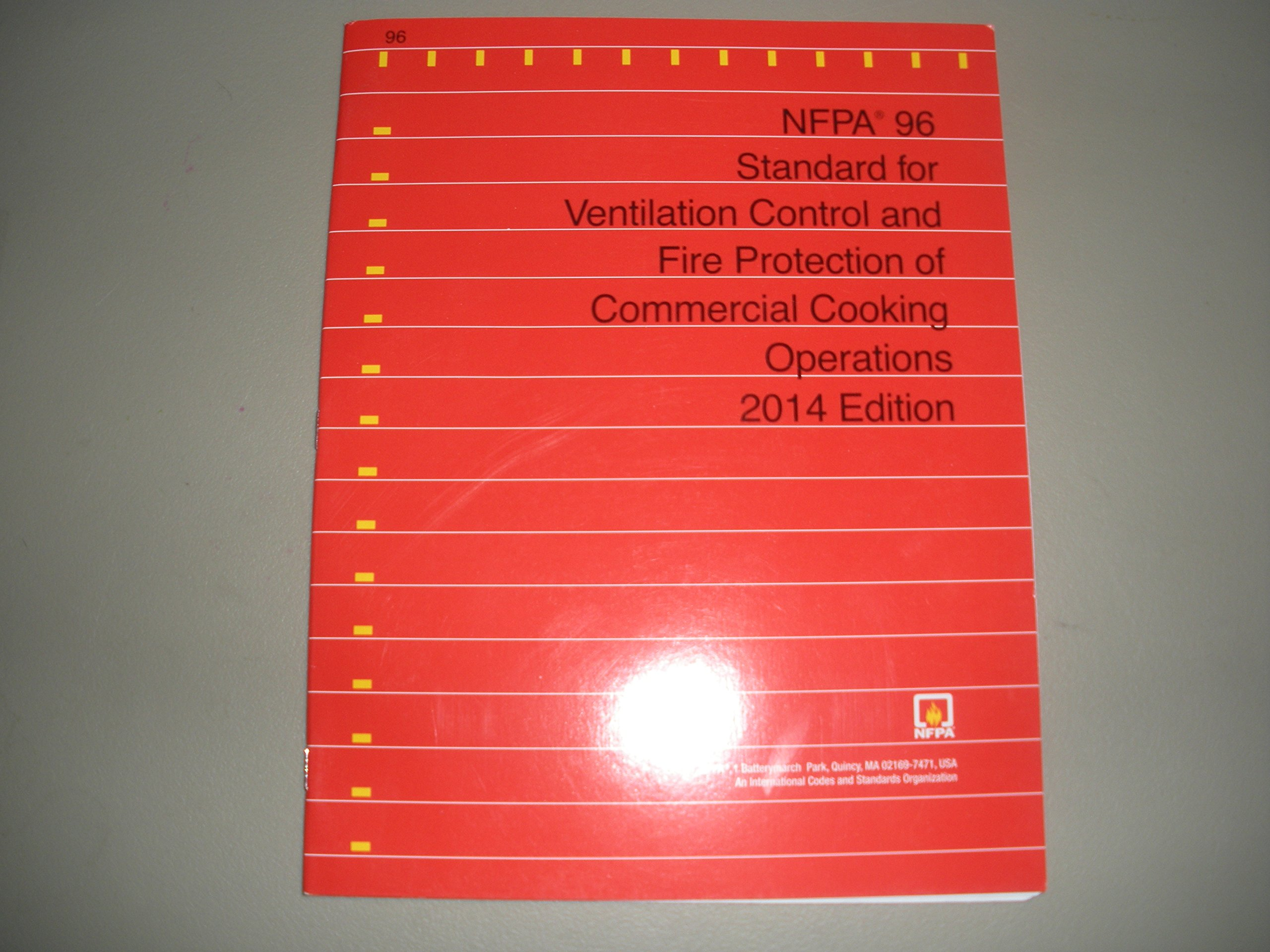 NFPA 96 - Standard for Ventilation Control and Fire Protection of  Commercial Cooking Operations, 2014 Edition: NFPA: 9781455907137:  Amazon.com: Books