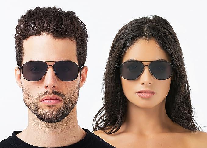 "Amazon.com  PRIVÉ REVAUX ""The Marquise"" Handcrafted Designer Polarized Aviator  Sunglasses For Men   Women  Clothing cccb12629"