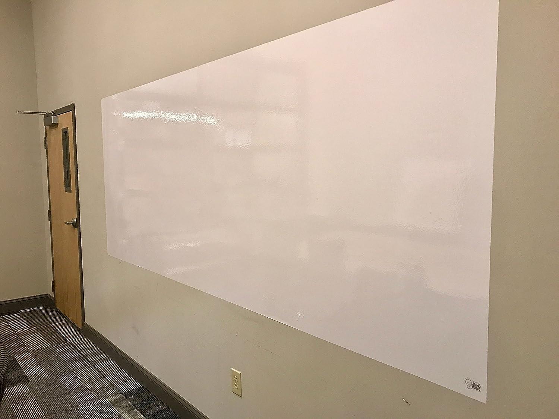 Think Board Premium Whiteboard Film, Peel and Stick, X-Large, White