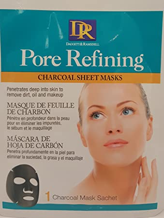 Daggett & Ramsdell Pore Refining Charcoal Masks (Pack of 3) Hard Candy Just Face It Foundation, 883 Ultra Light + Hard Candy Eyem Tired, Lightweight Depuffing Eye Serum. 0.59 Oz + Schick Slim Twin ST for Dry Skin