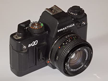 Vintage praktica bx slr mm film kamera amazon küche