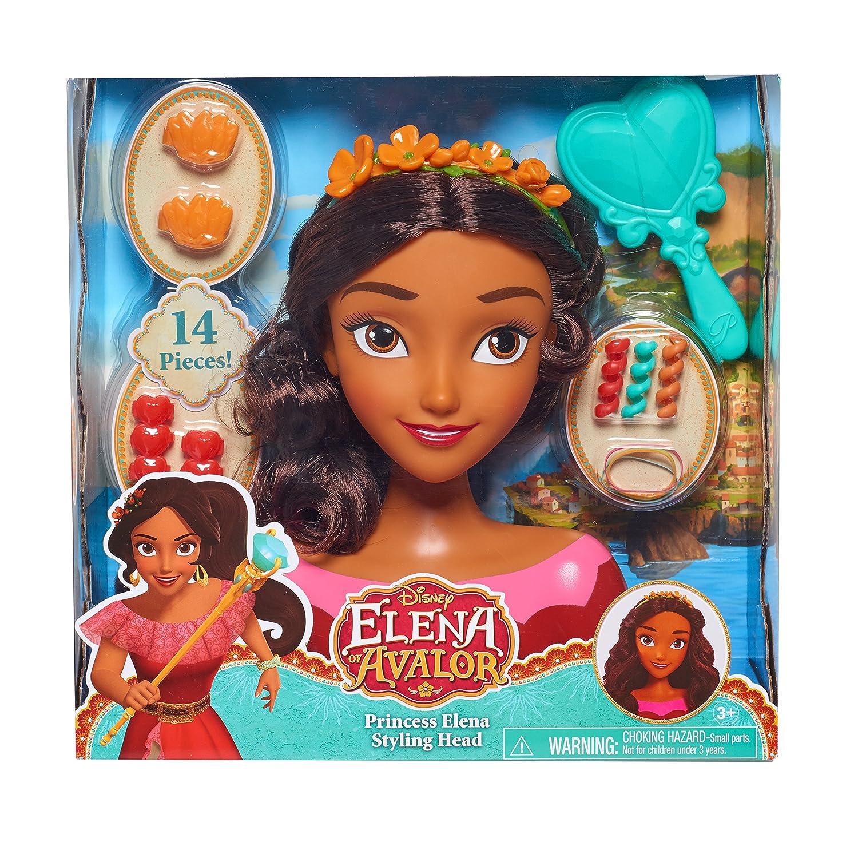 Just Play 87321 Avalor Elena Styling Head Doll