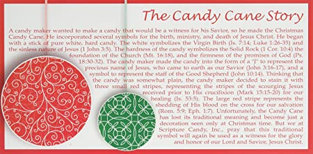 image regarding The Story of the Candy Cane Printable called Scripture Sweet Mini-Sweet Cane Box