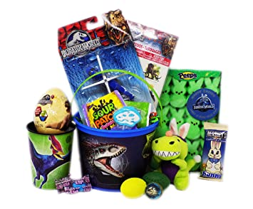 Amazon have a dino mite day jurassic world themed easter jurassic world themed easter gift basket with negle Image collections