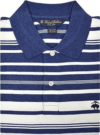 BROOKS BROTHERS - Polo para Hombre (Mezcla de algodón y Lino ...