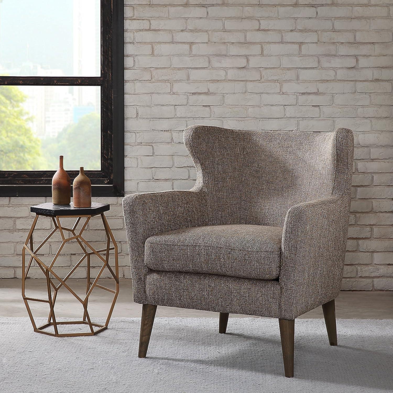 Amazon.com: Madison Park FPF18 0424 Concetta Concave Club Chair: Kitchen U0026  Dining