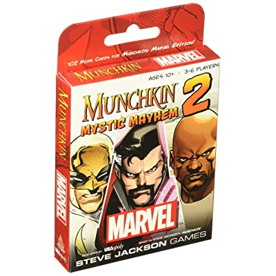 Munchkin Marvel 2 Mystic Mayhem Board Game: Cards: Toys & Games