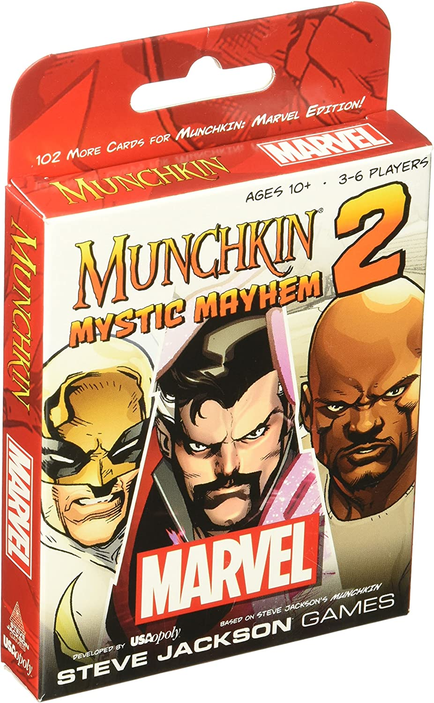 Munchkin Marvel 2 Mystic Mayhem Board Game by USAopoly: Amazon.es: Juguetes y juegos