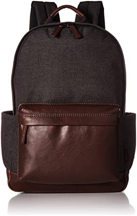 Fossil Men s Buckner Leather Backpack 180b8574d7ee6