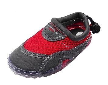 Zapatillas para agua Gul de neopreno para niños y adultos GForce, para agua, playa, rosa o rojo, unisex, rojo: Amazon.es: Deportes y aire libre