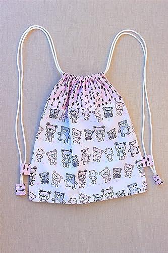 Mochila de tela para la guardería, mochila infantil personalizada.