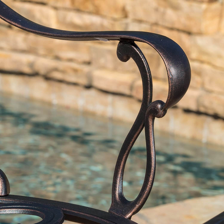 Harbor Outdoor 4-piece Cast Aluminum Chat Set