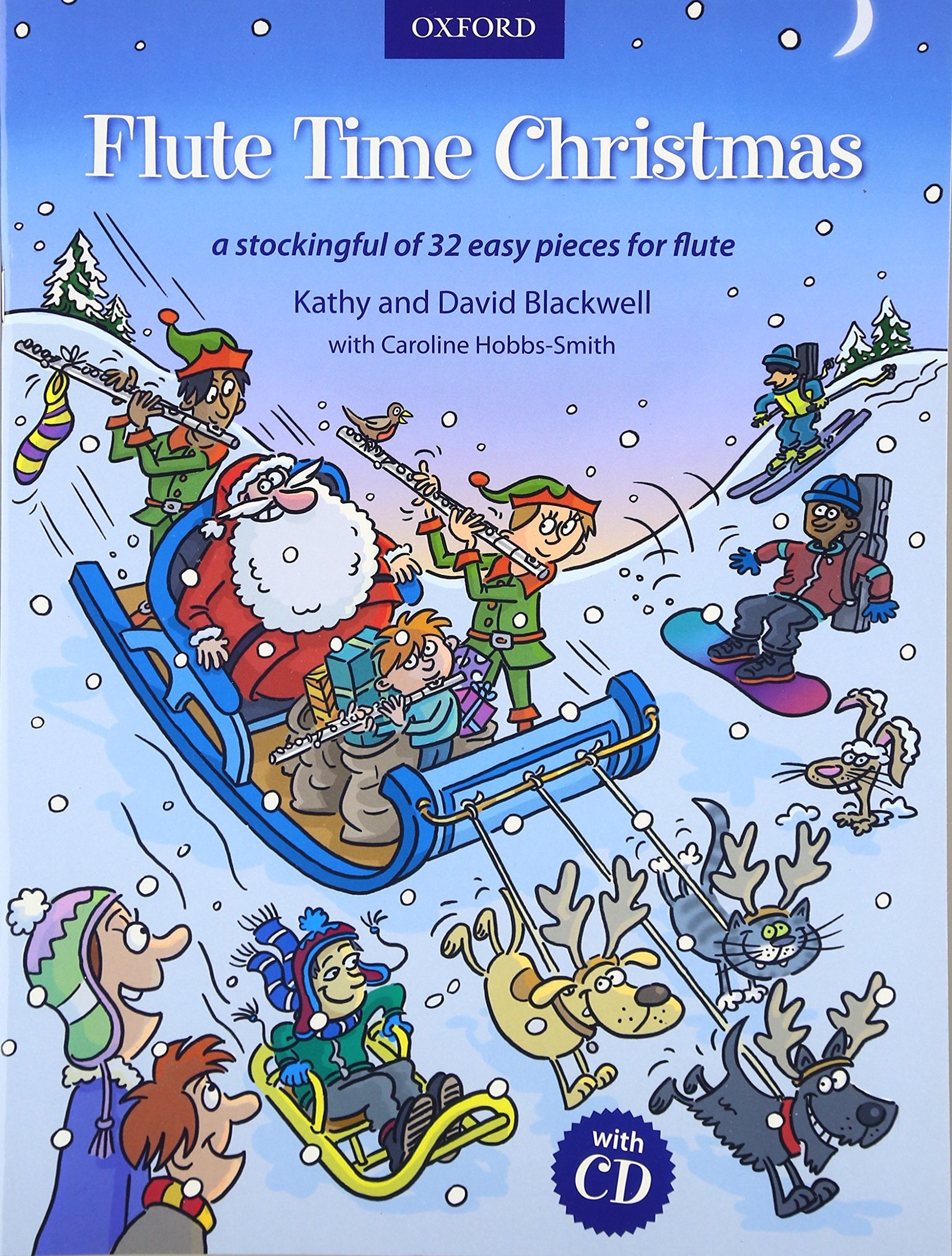 Flute Time Christmas CD A stockingful of 32 easy pieces Amazon