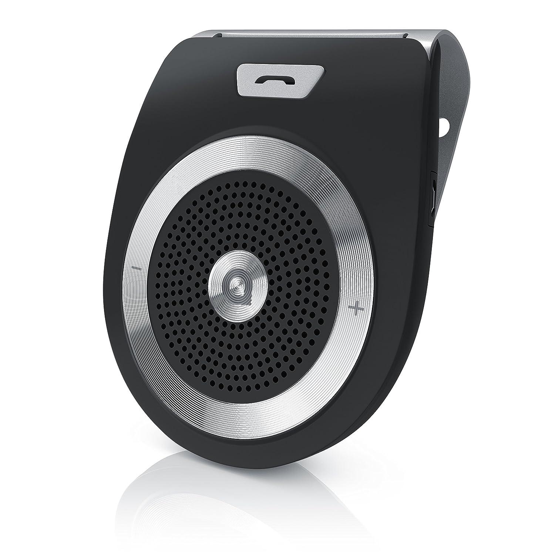 Aplic – Kit Vivavoce Auto a 2 Canali Bluetooth v4.1| Connessione simultanea di 2 periferiche/Smartphones| Altoparlante da 2W 303077