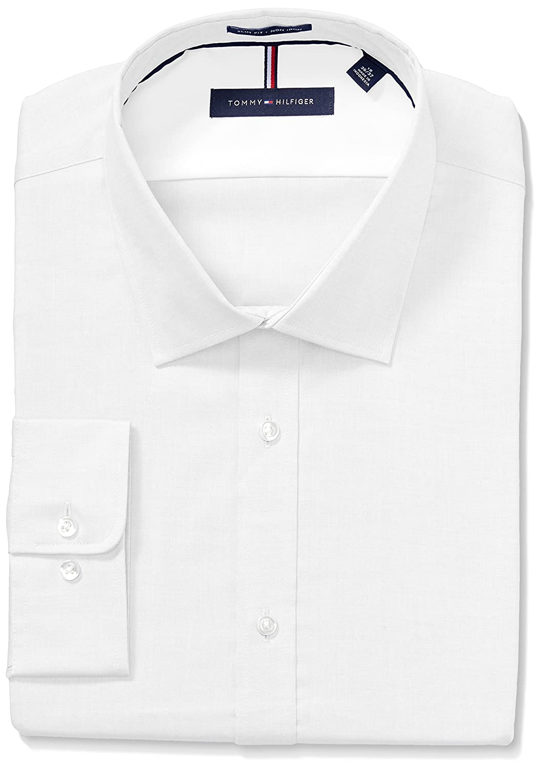 7d19e791 Online Cheap wholesale Tommy Hilfiger Mens Dress Shirts Non Iron Slim Fit  Solid Spread Collar Dress Shirts Suppliers