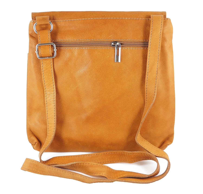 Italian Bag Company Bolso bandolera de Piel Mujer