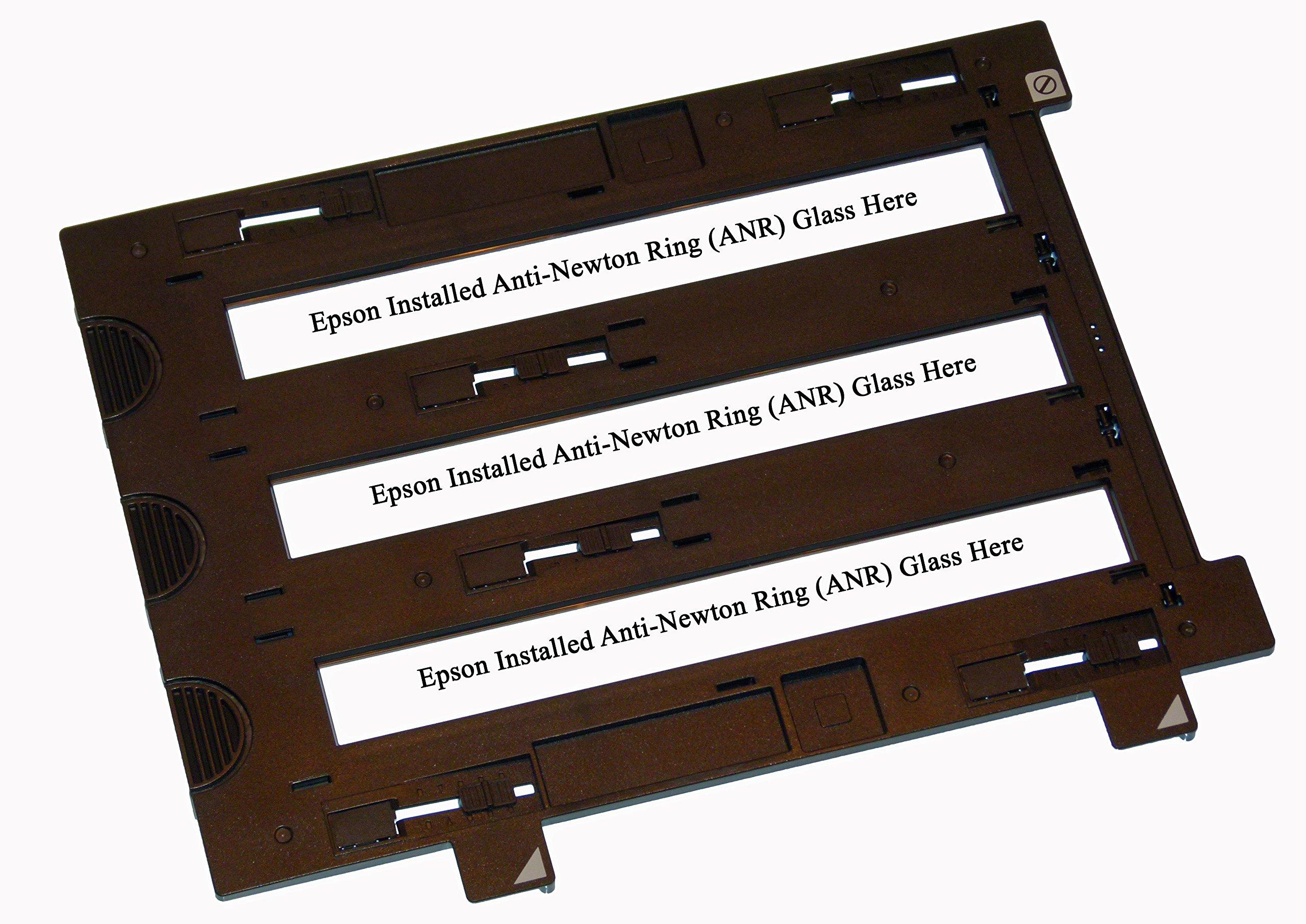 OEM Epson Scanner Film Holder with ANR for Epson Perfection V800 & V850-35mm Negative Filmstrip Holder by GenuineOEMEpson