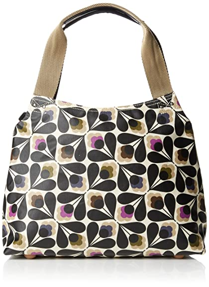 Orla Kiely Women s Matt Laminated Sycamore Seed Classic Zip Shoulder Handbag 2e7855c5e4e42