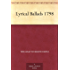 Lyrical Ballads 1798 (English Edition)