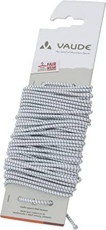 2mm Vaude Pole 10 AL7001 W//Insert Ersatzteil Silver 55 cm x 55cm