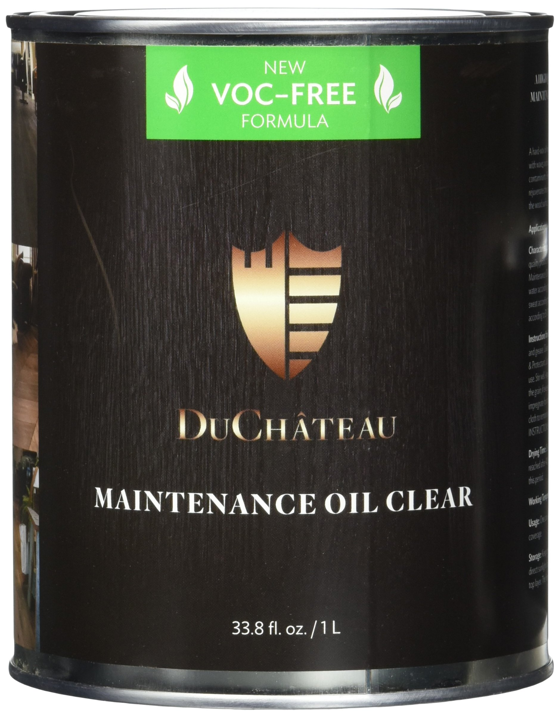 DuChateau Floors Maintenance Oil Clear 1 Liter (Pack of 2)