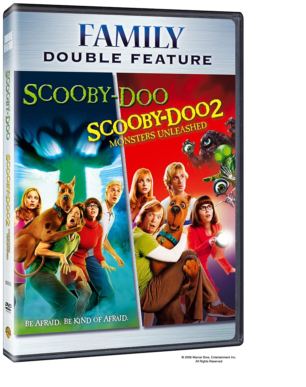 Amazon Com Scooby Doo The Movie Scooby Doo 2 Monsters Unleashed Dvd Dbfe Freddie Prinze Jr Sarah Micelle Gellar Matthew Lillard Linda Cardellini Raja Gosnell Movies Tv