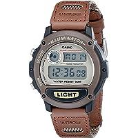 Casio W89HB-5AV Illuminator Reloj deportivo con brazalete de resina, para hombre.