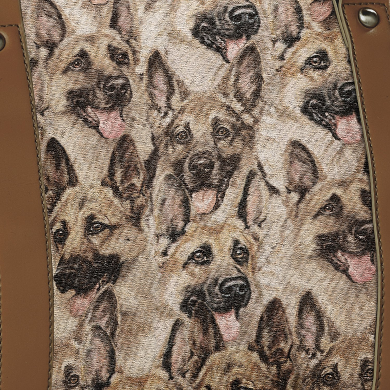 Constant Companion Dog Lovers Cotton Blend Tapestry Handbag: German Shepherd by The Bradford Exchange by Bradford Exchange (Image #2)