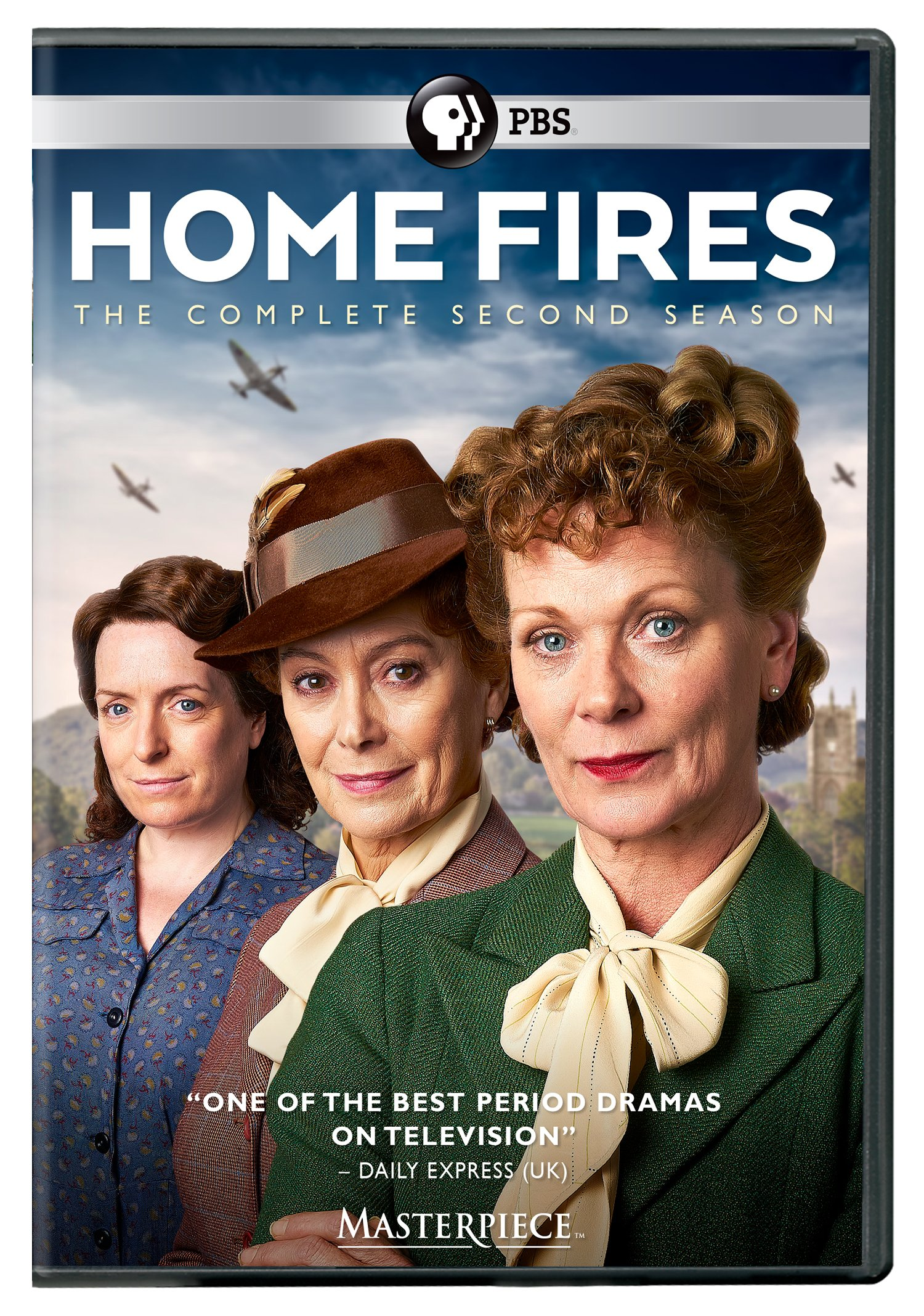 DVD : Masterpiece: Home Fires - Season 2 (2 Pack, 2 Disc)