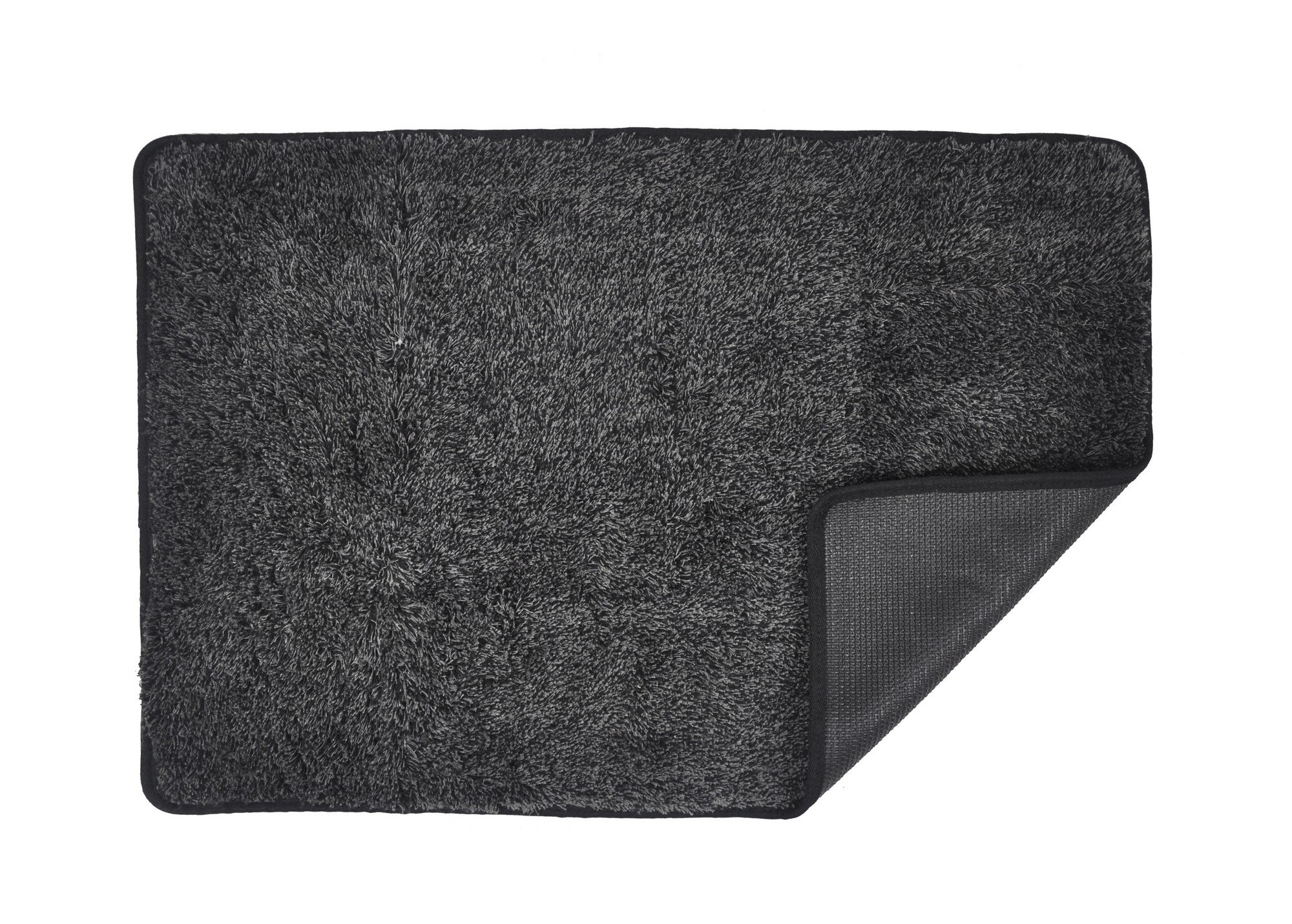 Eurow Trek N' Clean Super Absorbent Floor Mat (23.5in X 36in) Gray/Black
