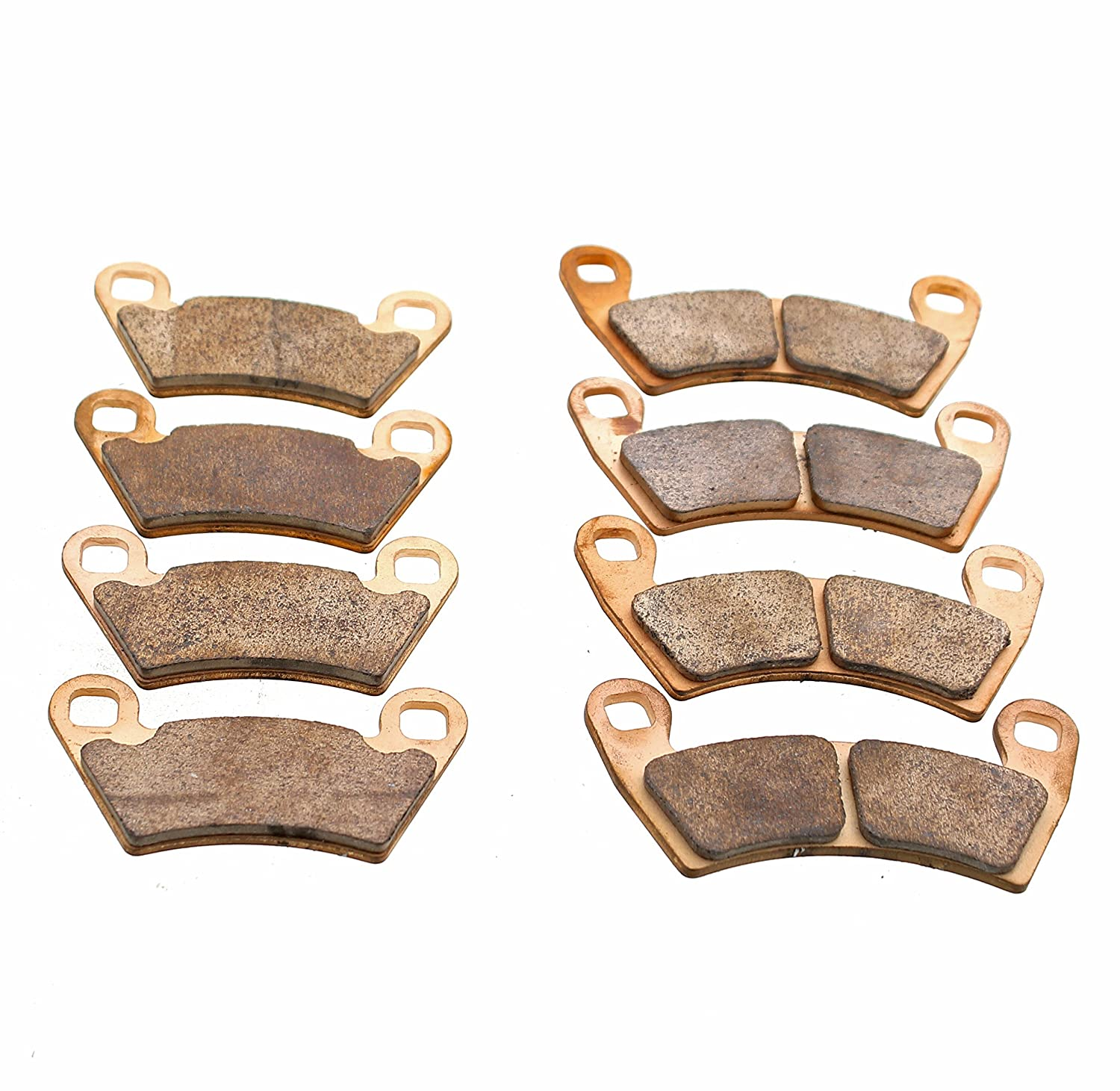 Brake Pads fit Polaris Ranger XP 900 2012-2018 Front and Rear UTV by Race-Driven