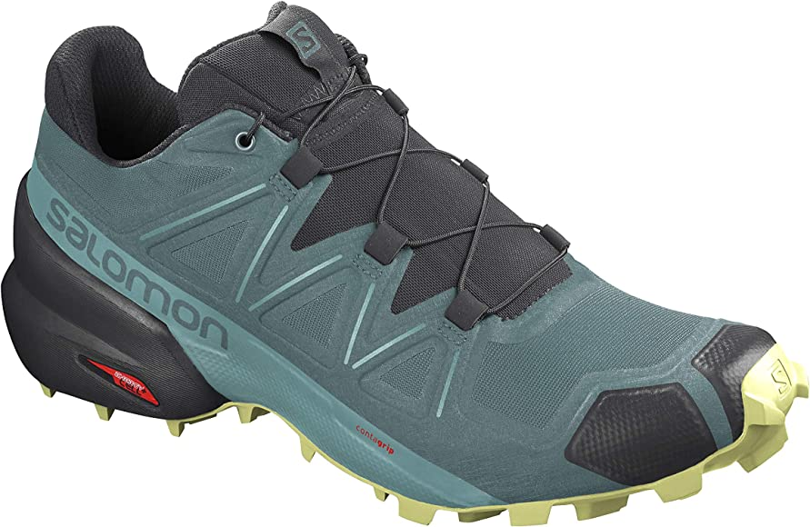 Salomon Alpha Cross - Zapatillas de Trail para Mujer, Color Gris, Talla 38 EU: Amazon.es: Zapatos y complementos