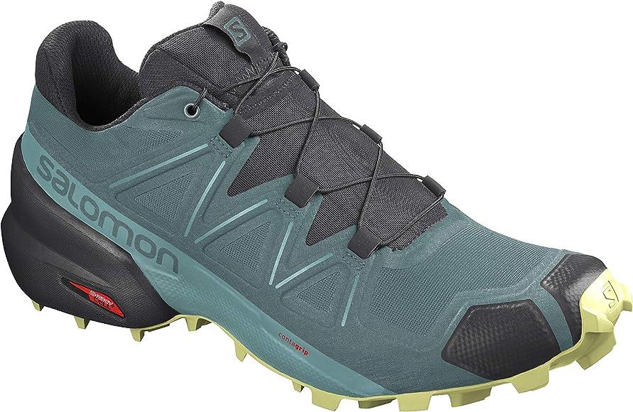 Salomon Alpha Cross - Zapatillas de Trail para Mujer, Color Gris ...