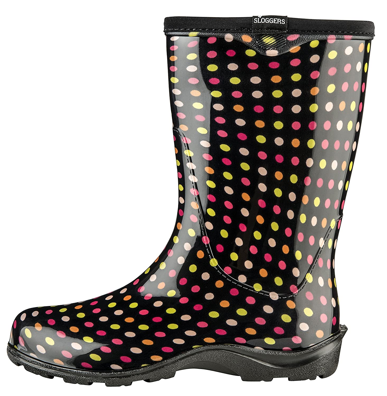 Sloggers 5017PDM11 Floral Collection Women's Rain 11, & Garden Boot, Size 11, Rain Multicolor B01H73PBJC Size 11 9c3bf7
