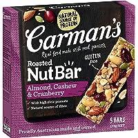 Carman's Nut Bar Almond, Cashew & Cranberry, 5-Pack (175g)